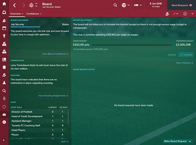 If youre heading for bankruptcy, youre heading for trouble. Fraser Gilbert explains the best ways to achieve financial stability - and even find a future wonderkid - in FM 2017