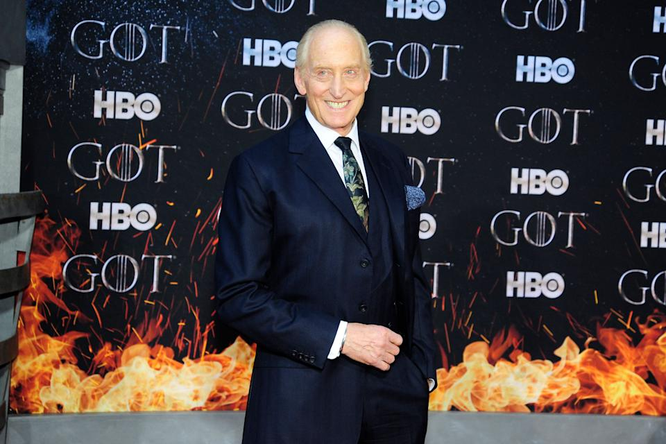 "NEW YORK, NY - APRIL 3: Charles Dance attends ""Game Of Thrones"" New York Premiere at Radio City Music Hall, NYC on April 3, 2019 in New York City. (Photo by Paul Bruinooge/Patrick McMullan via Getty Images)"