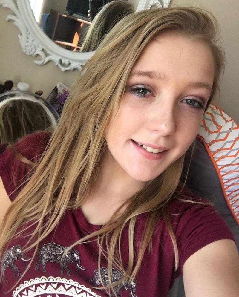 Riley Crossman, 15 | Riley Crossman/Facebook