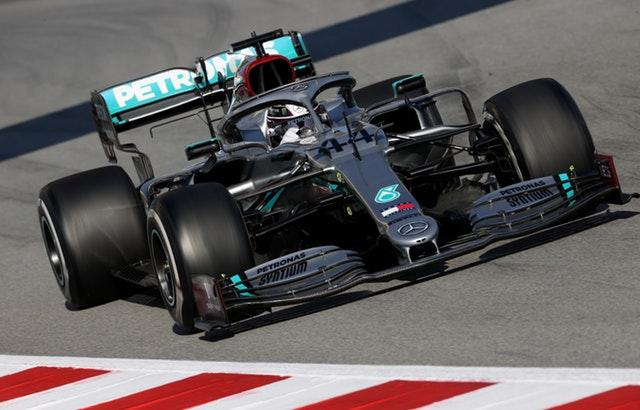 Lewis Hamilton completed 106 laps on Thursday morning