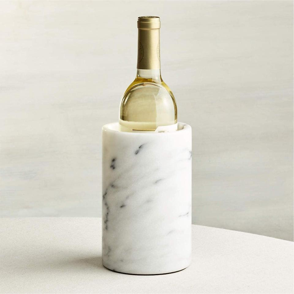<p>This <span>French Kitchen Marble Wine Cooler</span> ($35) will look great on your bar cart.</p>