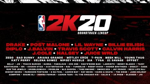 NBA® 2K20 is Changing the Game with a Dynamic Soundtrack