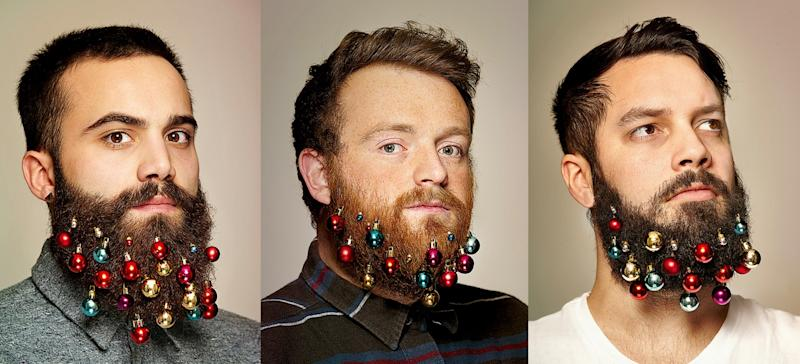 beard baubles - Christmas Beard