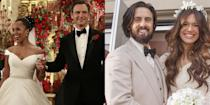 <p>Although the ceremonies weren't real (no matter how much you wanted them to be!), you can still appreciate the gowns your favorite fictional characters wore on their wedding days. These 50 leading ladies will give you major wedding dress inspo, whether you're looking for your own (real-life) big day or just browsing.</p>