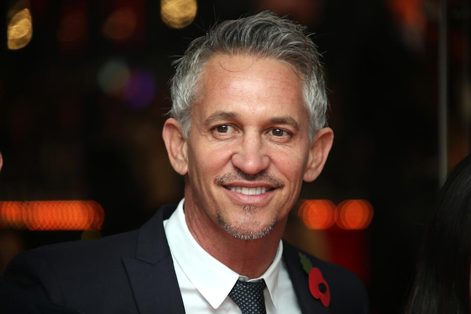 Sports comemntator Gary Lineker is still the highest earning presenter at the BBC, with a salary of £1,750,000 – £1,754,999, the same as he earned last year. (Credit: PA)