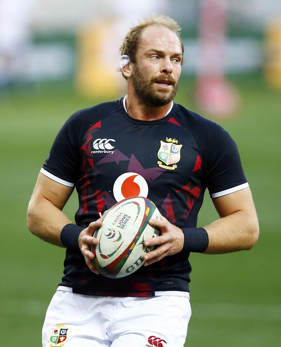 Lions captain Alun Wyn Jones knows changes will be made for the third Test (Steve Haag/PA) (PA Wire)