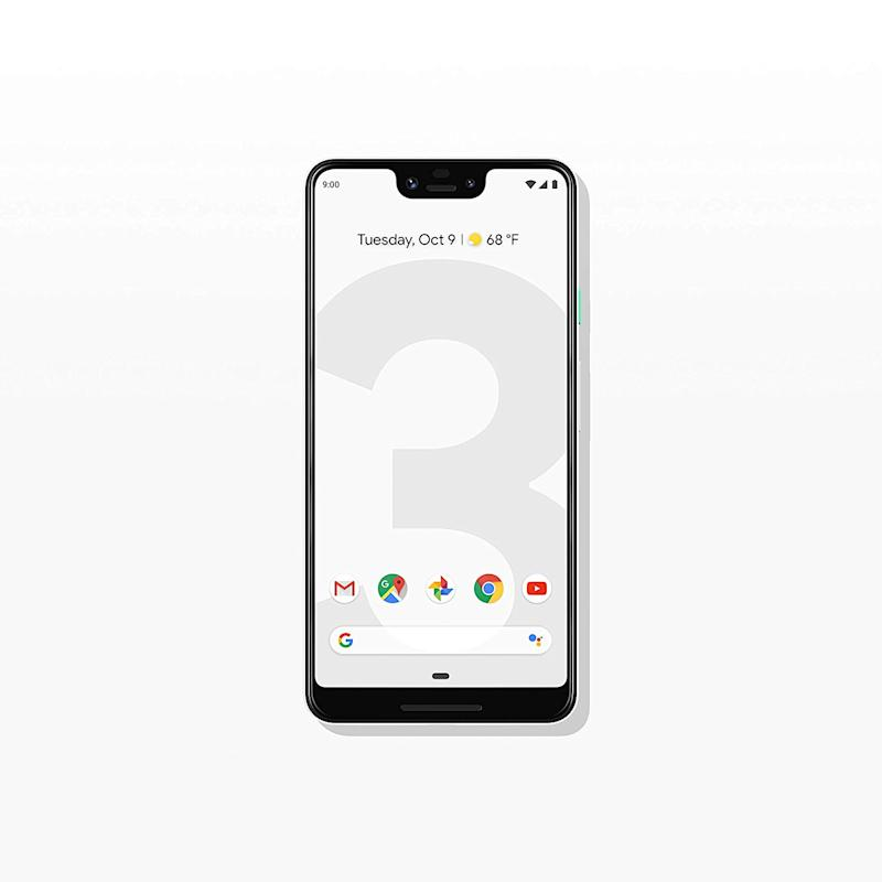 The new and improved Google Pixel 3 XL. (Photo: Amazon)