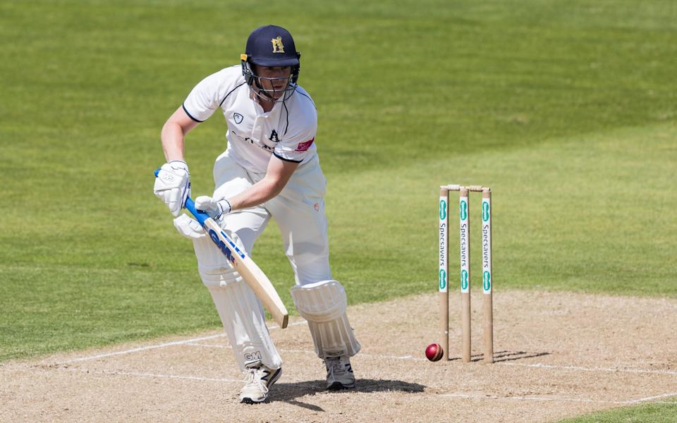 Rob Yates impressed for Warwickshire on day one - Getty Images