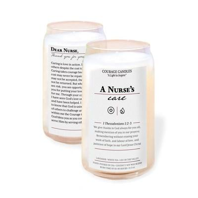 Thank you Nurses! Courage Candles are the perfect gift for Christians wanting to encourage and show gratitude.