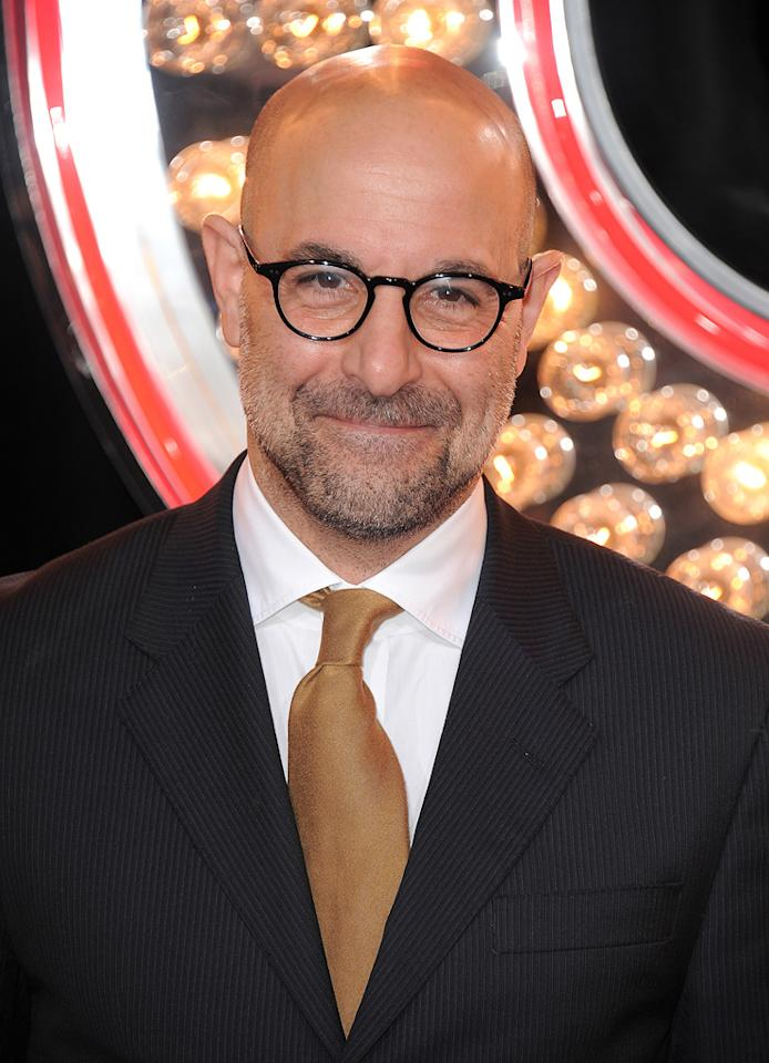 """<a href=""""http://movies.yahoo.com/movie/contributor/1800018595"""">Stanley Tucci</a> at the Los Angeles premiere of <a href=""""http://movies.yahoo.com/movie/1810125282/info"""">Burlesque</a> on November 15, 2010."""