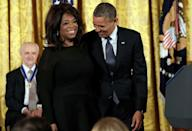 <p>This photo of Obama and Oprah? Priceless.</p>