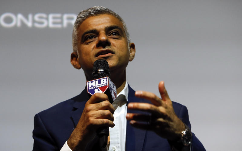 Sadiq Khan, the Mayor of London (Credit: Alastair Grant/AP)