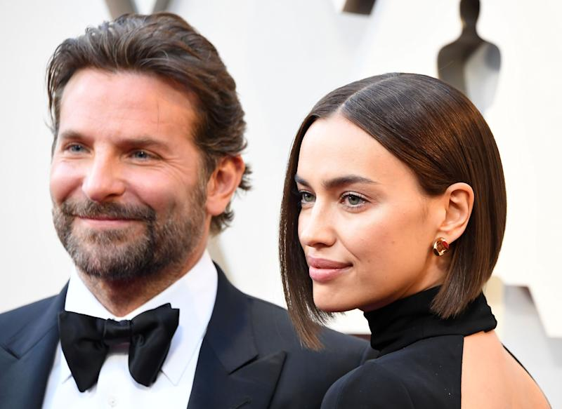 HOLLYWOOD, CALIFORNIA - FEBRUARY 24: Bradley Cooper and Irina Shayk arrives at the 91st Annual Academy Awards at Hollywood and Highland on February 24, 2019 in Hollywood, California. (Photo by Steve Granitz/WireImage)