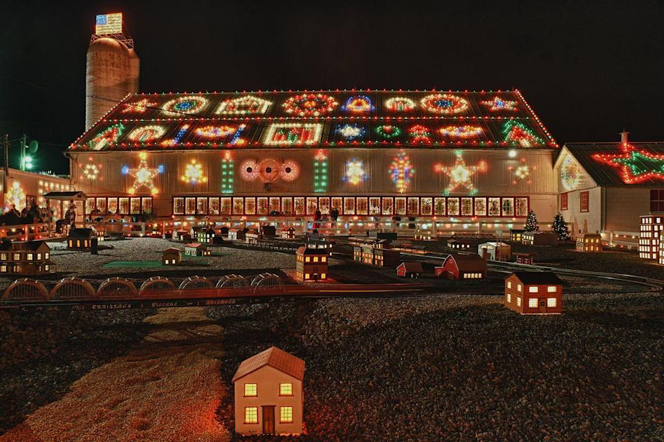 """<p>Back in 1948, William M. Koziar began decorating his home in <a href=""""http://www.koziarschristmasvillage.com/home/history.html"""" rel=""""nofollow noopener"""" target=""""_blank"""" data-ylk=""""slk:Bernville"""" class=""""link rapid-noclick-resp"""">Bernville</a> for the viewing pleasure of his family. Now, <a href=""""http://www.koziarschristmasvillage.com/home/"""" rel=""""nofollow noopener"""" target=""""_blank"""" data-ylk=""""slk:Koziar's Christmas Village"""" class=""""link rapid-noclick-resp"""">Koziar's Christmas Village</a> is one of the top attractions in the state of Pennsylvania, and boasts both indoor and outdoor displays.</p><p><strong><a class=""""link rapid-noclick-resp"""" href=""""https://go.redirectingat.com?id=74968X1596630&url=https%3A%2F%2Fwww.tripadvisor.com%2FTourism-g52193-Bernville_Pennsylvania-Vacations.html&sref=https%3A%2F%2Fwww.countryliving.com%2Flife%2Ftravel%2Fg2829%2Fbest-christmas-towns-in-usa%2F"""" rel=""""nofollow noopener"""" target=""""_blank"""" data-ylk=""""slk:PLAN YOUR TRIP"""">PLAN YOUR TRIP</a></strong></p>"""