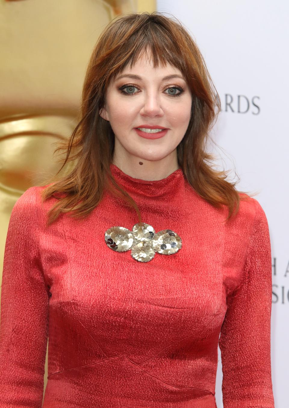 LONDON, UNITED KINGDOM - 2019/04/28: Diane Morgan at the British Academy (BAFTA) Television Craft Awards at The Brewery, Chiswell Street. (Photo by Keith Mayhew/SOPA Images/LightRocket via Getty Images)