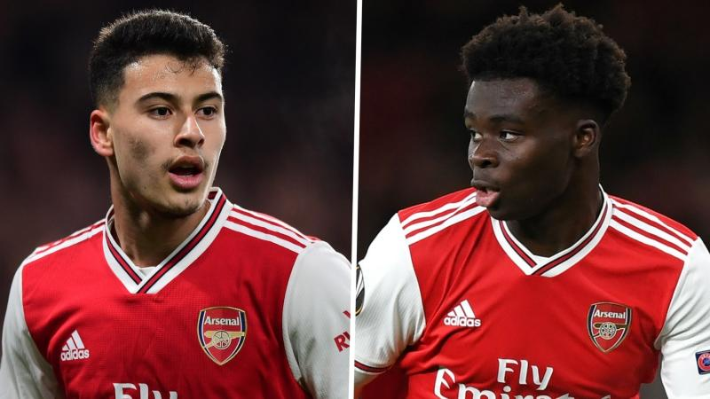 'Saka and Martinelli are future world stars!' - Arsenal goalkeeper Martinez says talented duo are 'different class'