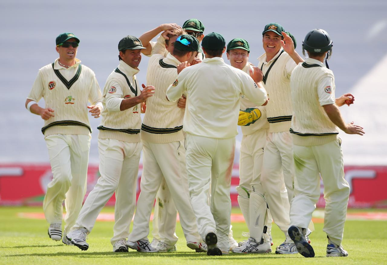 Australia had England reeling on 90/3 on the first day. But the hosts recovered to post 435 thanks to a string of half-centuries by the middle order.