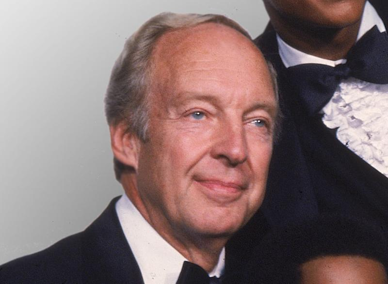 "FILE - This Sept. 13, 1981 file photo shows actor Conrad Bain from the television show ""Different Strokes,"" at the Emmy Awards in Los Angeles. Bain, who starred as the kindly white adoptive father of two young African-American brothers in the TV sitcom ""Diff'rent Strokes,"" died of natural causes, Monday, Jan. 14, 2013, at his home in Livermore, Calif. He was 89. (AP Photo, file)"