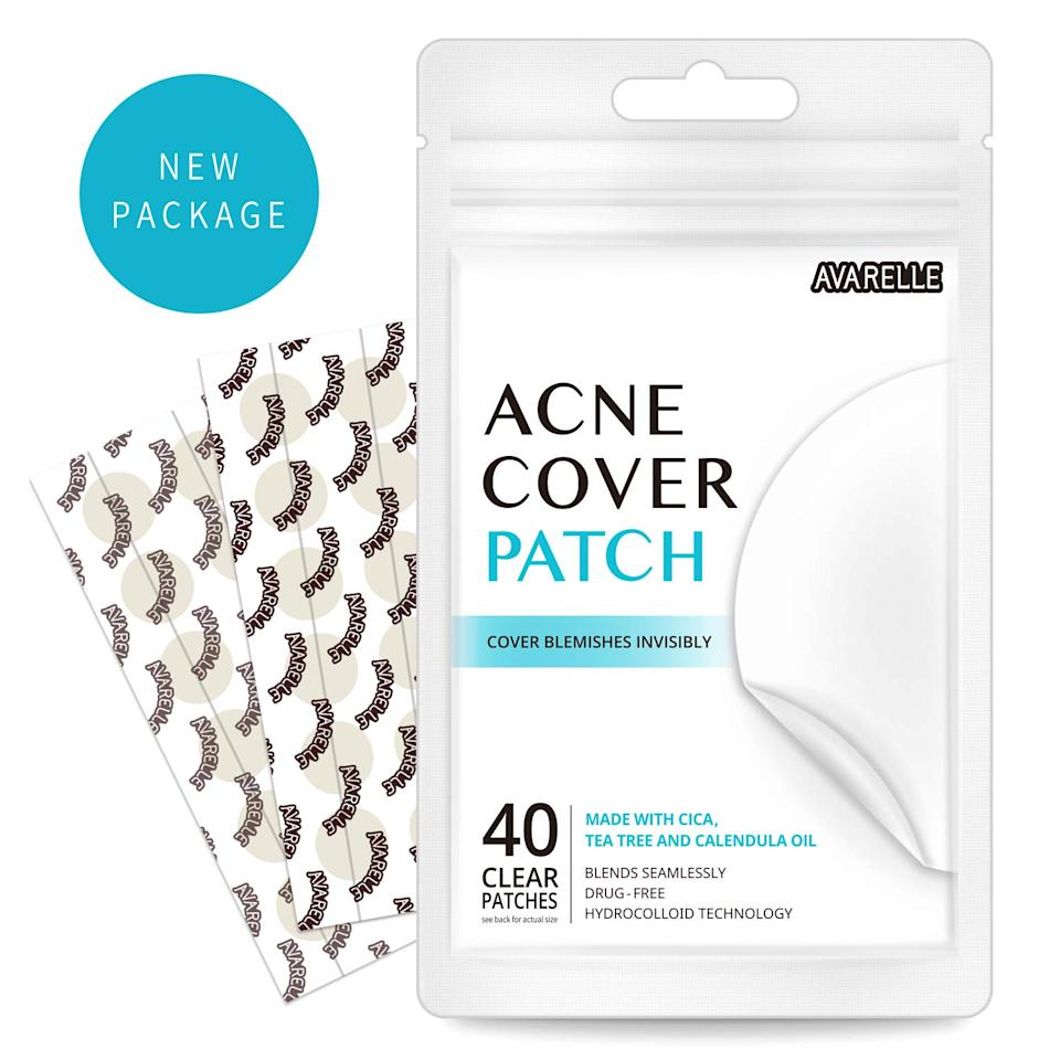 """<h3>Avarelle Acne Absorbing Cover Patch</h3><br><strong>Katie</strong><br><br>""""As one reviewer said it best, 'these little patches are 'miracle workers.' Coming from someone with sensitive skin prone to additional flareups from using harsher acne-related formulas, this absolute hidden gem of a product caused no irritation whatsoever and actually soothed my skin while clearing up my blemish overnight. I'm a believer.""""<br><br><strong>Avarelle</strong> Acne Absorbing Cover Patch, $, available at <a href=""""https://www.amazon.com/Avarelle-Cover-Patch-Hydrocolloid-Calendula/dp/B075QNC39Q/ref=lp_17868992011_1_1_s_it"""" rel=""""nofollow noopener"""" target=""""_blank"""" data-ylk=""""slk:Amazon"""" class=""""link rapid-noclick-resp"""">Amazon</a>"""