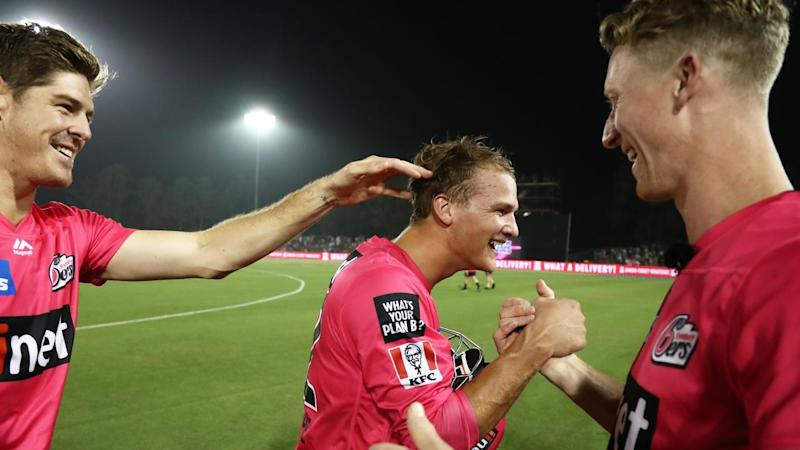 Josh Philippe's unbeaten 83 has led the Sydney Sixers to a stunning BBL win over Adelaide