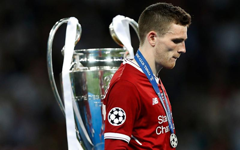 Robertson insists Liverpool will use defeat in Kiev as motivation for next season - Getty Images Europe