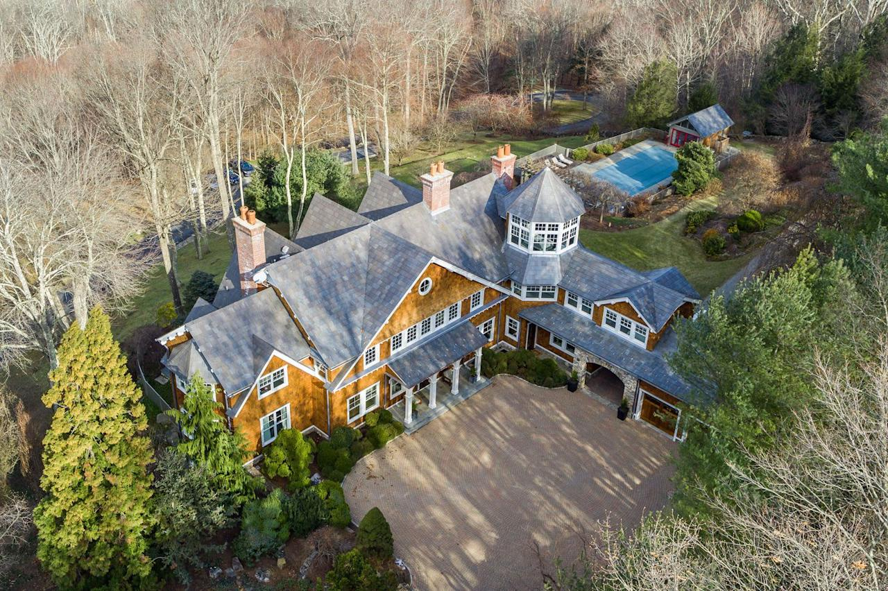 <p>Aside from the large house, there is a second lot with a 3,166 square foot antique farmhouse, a 1,007 square foot house, and a 660 square foot house. Because, of course.</p>