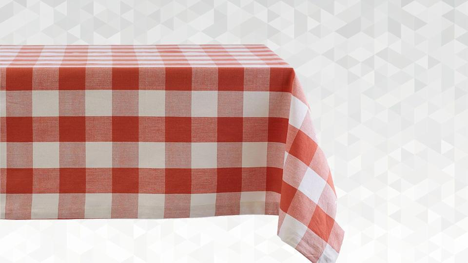 It's not really a barbecue without a red and white checkered tablecloth.