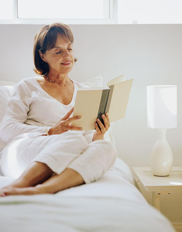 """<p>The time for reading is now. Pick a book and dial your pals once a week to discuss it. Ask questions like, """"Which character in this book would you most like to meet?"""" Or, """"What questions did you have while reading this week's chapter?""""</p><p><strong>RELATED:</strong> <a href=""""https://www.goodhousekeeping.com/life/entertainment/g30456677/best-books-of-2020/"""" target=""""_blank"""">The 20 Best Books of 2020 to Add to Your Reading List</a></p>"""
