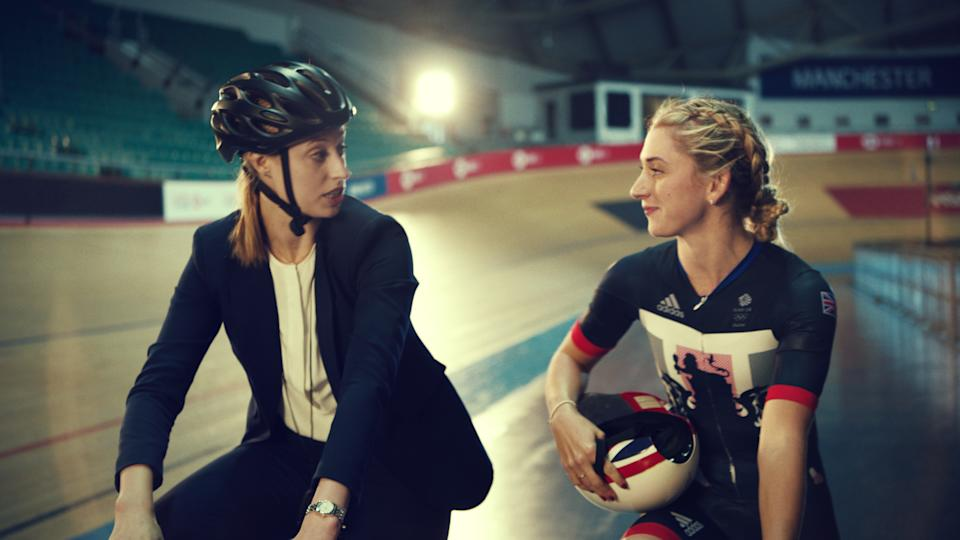 Four-time Olympic champion Laura Kenny is one of several leading sportspeople backing Purplebricks' innovative 'Home Support' campaign