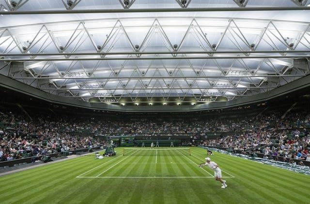 Andy Murray will be back on Centre Court on Wednesday