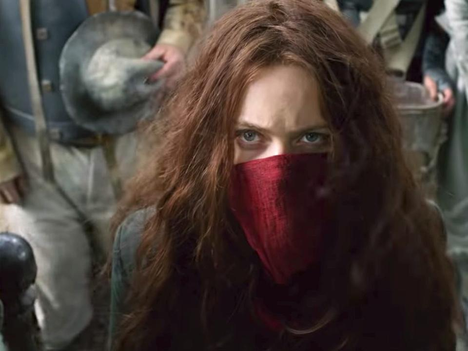 "Hera Hilmar in ""Mortal Engines."""