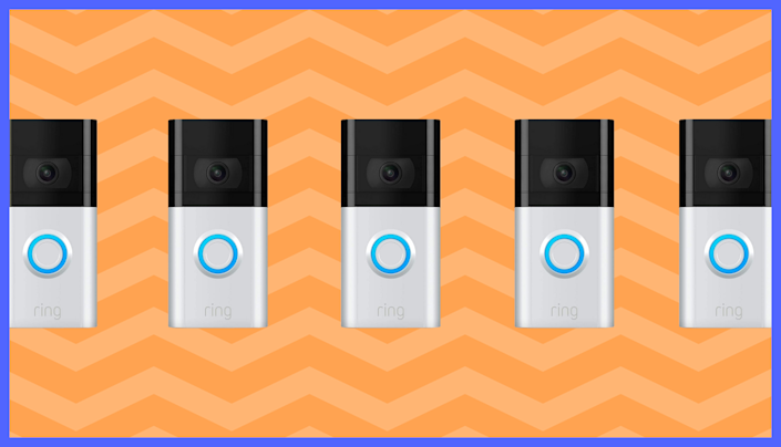 The Ring Video Doorbell 3 is on sale for $170, and includes a free Ring Chime and Ring Assist+. (Photo: Ring)