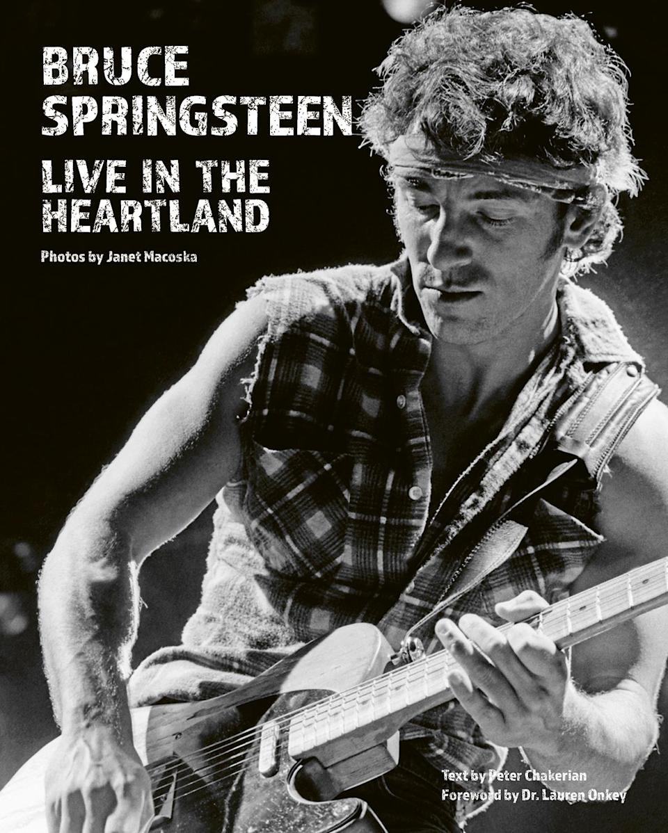 """<p><em>Bruce Springsteen: Live in the Heartland</em> was published by ACC Art Books on Tuesday.</p> <p><strong>Buy It:</strong> <a href=""""https://amzn.to/3cRnkfM"""" rel=""""nofollow noopener"""" target=""""_blank"""" data-ylk=""""slk:Amazon"""" class=""""link rapid-noclick-resp"""">Amazon</a></p>"""