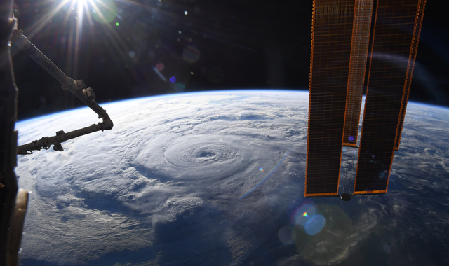 Hurricane Genevieve: Astronaut captures stunning pictures from International Space Station