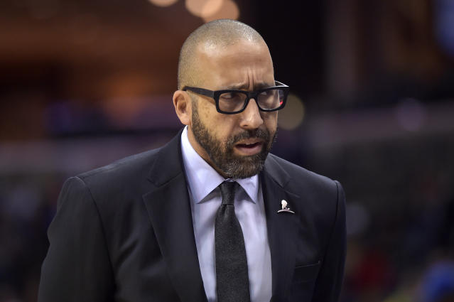 Grizzlies coach David Fizdale lasted just over one season in Memphis. (AP)