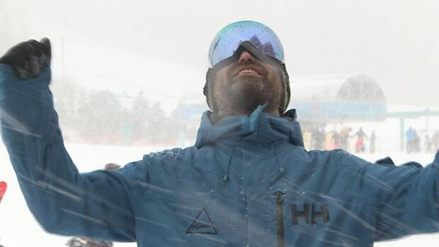 Richard Wells, Marble Mountain operations manager, is ecstatic the ski season is finally underway.