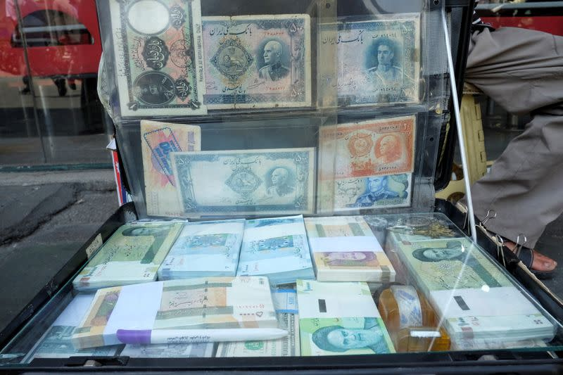 Iran's rial hits record low as tension spikes with the U.S.