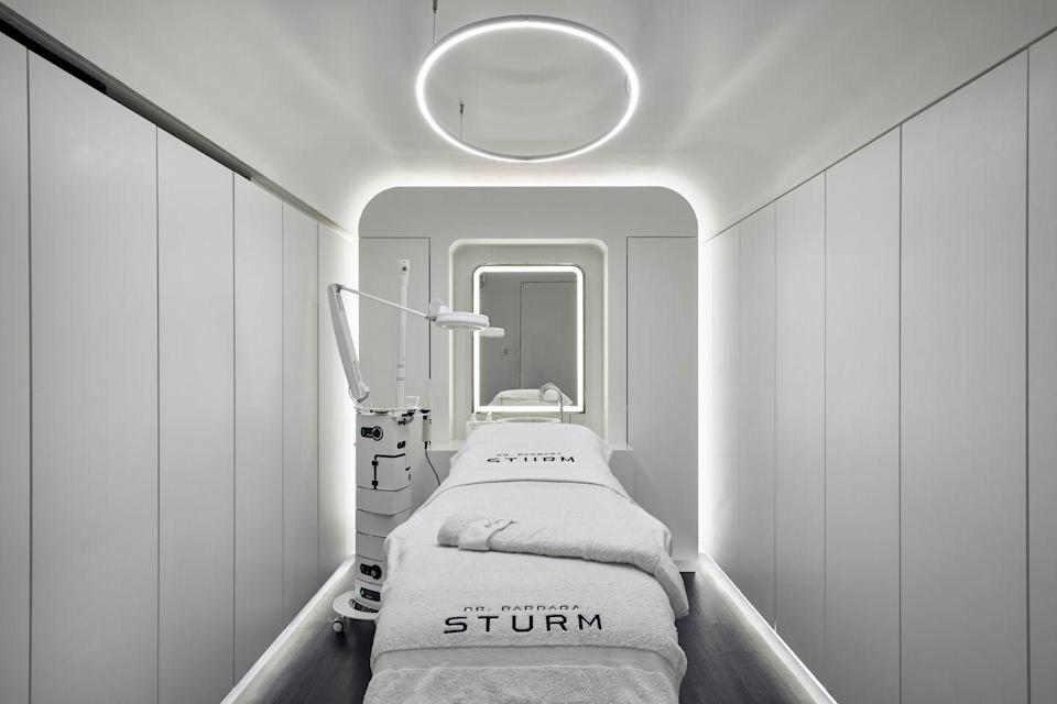 """<p>What better way to spoil your dad than with a facial with the celebrity beauty favourite Dr Barbara Sturm. Her new Mayfair-based boutique offers a range of refreshing treatments to rejuvenate mind, body and epidermis. A personalised men's facial cleanses, tones, soothes and comforts irritated skin (especially good after a close shave), and removes all the pesky rough and dry skin in between. He will leave the place looking like a new man. </p><p>Facials from £150, <a href=""""https://en.drsturm.com/london-boutique-and-spa"""" rel=""""nofollow noopener"""" target=""""_blank"""" data-ylk=""""slk:Barbara Sturm"""" class=""""link rapid-noclick-resp"""">Barbara Sturm</a>. </p>"""