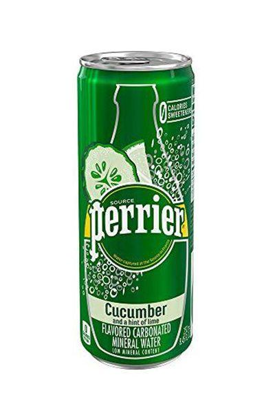 """<p><strong>Perrier</strong></p><p>amazon.com</p><p><a href=""""https://www.amazon.com/dp/B07M84H391?tag=syn-yahoo-20&ascsubtag=%5Bartid%7C10055.g.29443085%5Bsrc%7Cyahoo-us"""" target=""""_blank"""">Shop Now</a></p><p>Crack open a can of Perrier's newest flavor (with refreshing notes of citrus and cucumber) and be transported straight to the spa.</p>"""