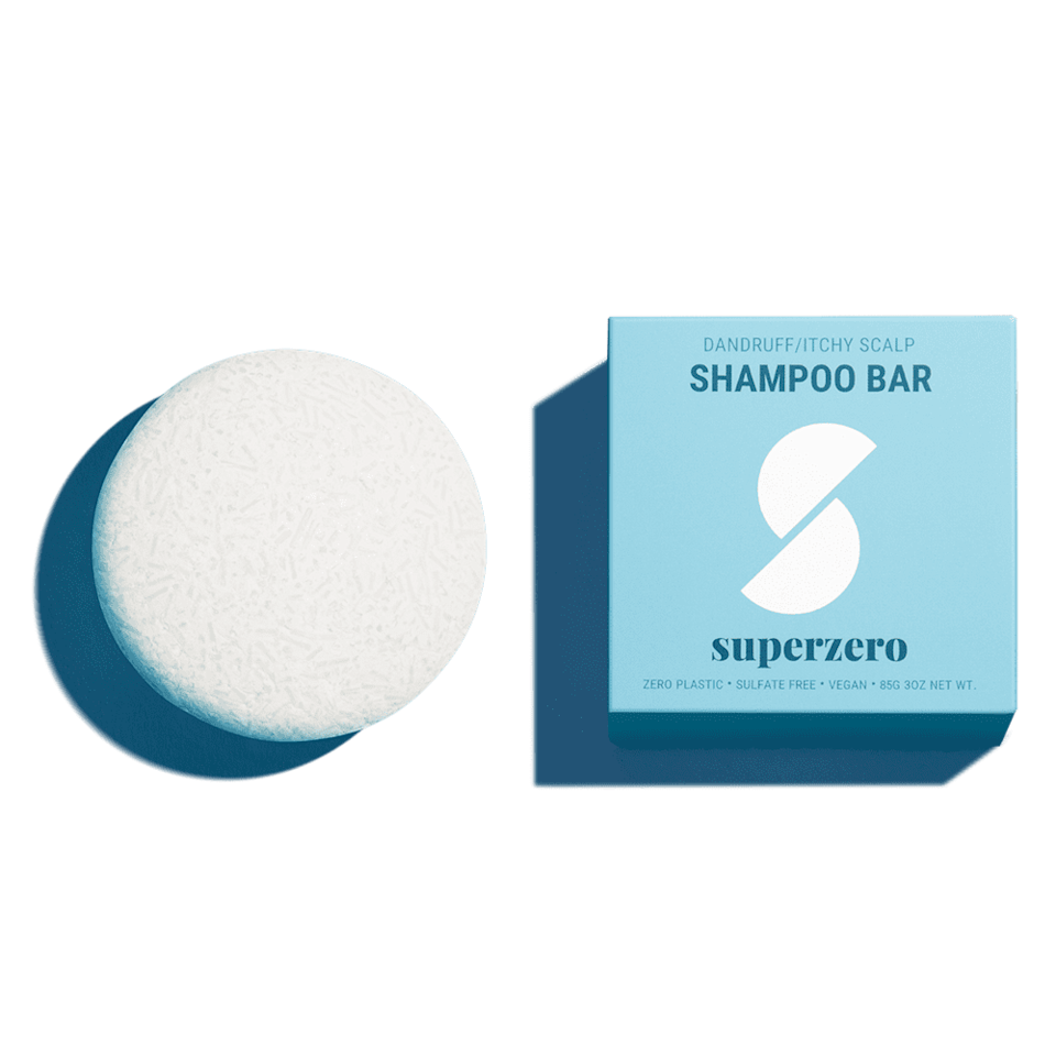 <p>The <span>Superzero Shampoo Bar for Flakes and Itchy Scalp</span> ($18) features a combination of avocado oil, shea butter, and tea tree oil to gently cleanse the scalp and treat itchiness. Each bar is equivalent to at least two bottles of liquid shampoo.</p>