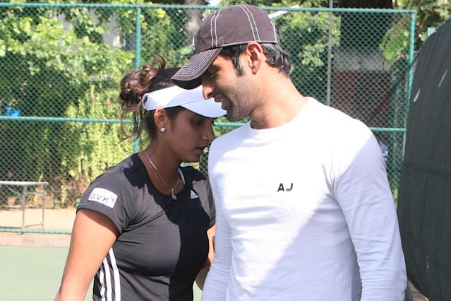 After dating for almost five months, the tennis ace married the Pakistan cricketer in 2010. The power couple continue to represent their countries in their respective sports.