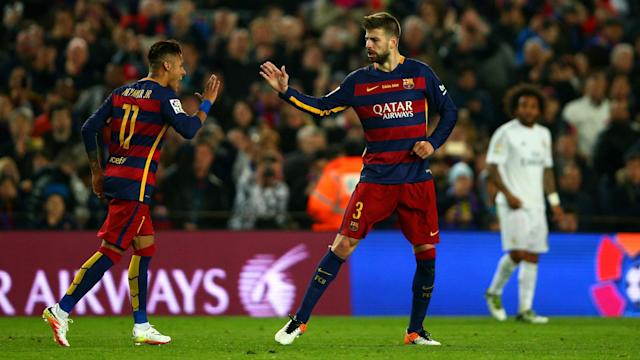 "Barcelona defender Gerard Pique says he knew Neymar was to leave when he posted his now infamous ""se queda"" tweet."