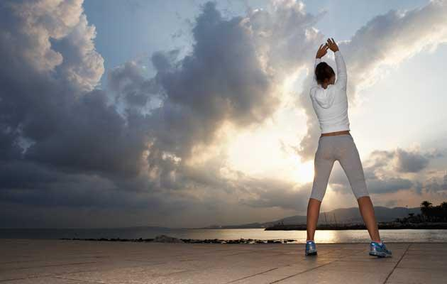 Sunlight stimulates the production of vitamin D. (Getty Images)