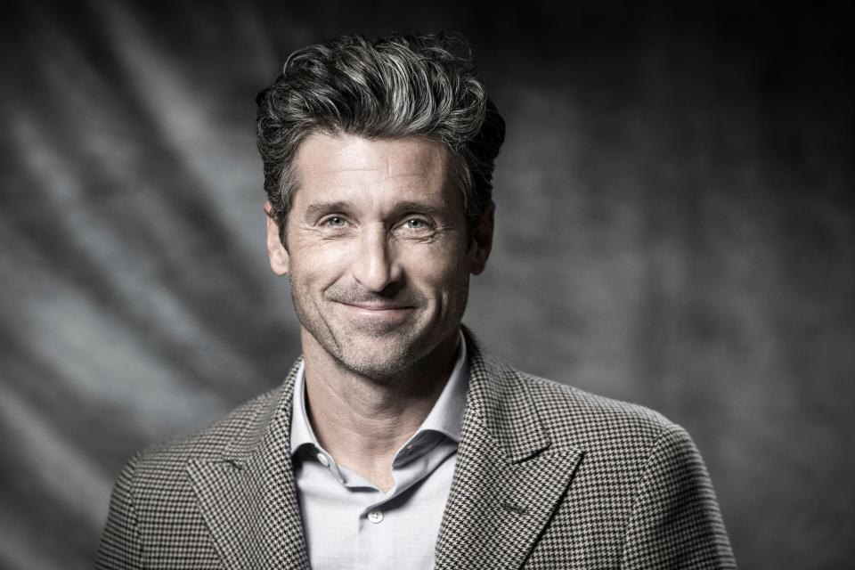 US actor Patrick Dempsey poses during a photo session in Paris, on November 12, 2018. (Photo by JOEL SAGET / AFP)        (Photo credit should read JOEL SAGET/AFP via Getty Images)