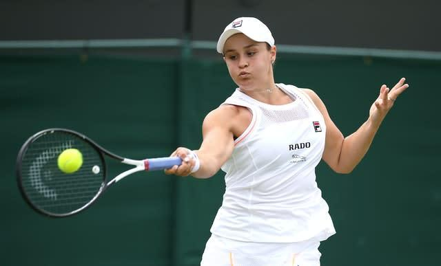 Women's world number one Ashleigh Barty will not be at Flushing Meadows (Steven Paston/PA)