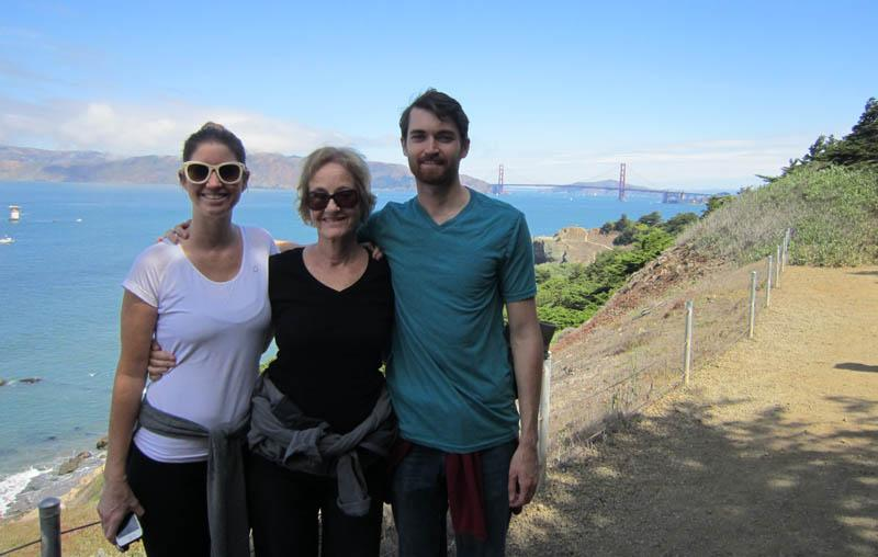 Ross Ulbricht with sister and mother, SF, Sept. 13