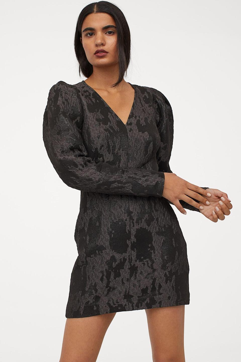 <p>This <span>Jacquard-Weave Dress</span> ($40, originally $50) is a stylish choice for a fancy museum night.</p>
