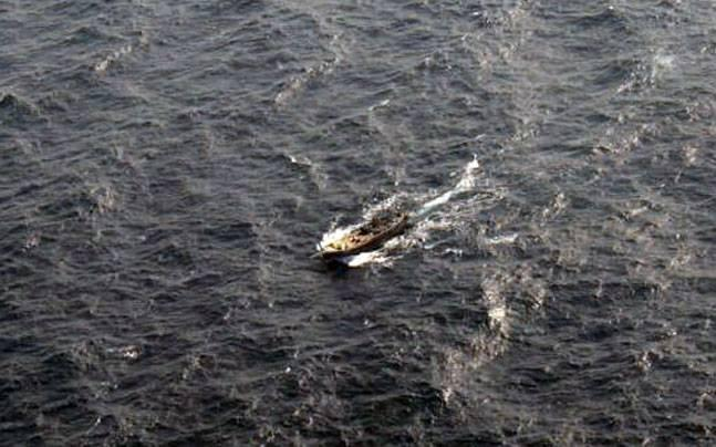 Abandoned Pakistan boat found during BSF patrolling off Kutch coast