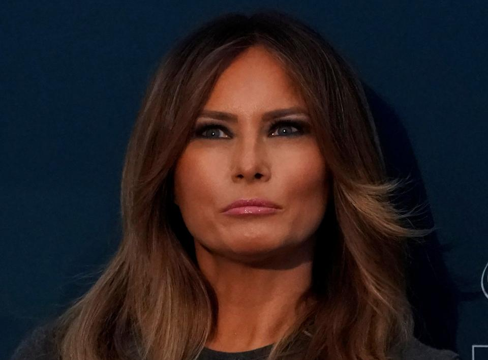 The first lady's flight to Florida on a military plane reportedly cost $35,000. (Photo: Carlos Barria / Reuters)