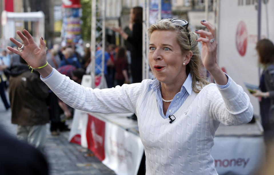 Katie Hopkins allegedly detained at Johannesburg airport for 'spreading racial hatred'